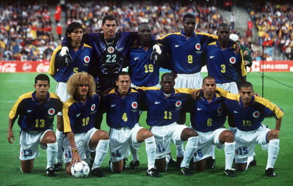 Kolumbien Mannschaft