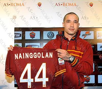 Nainggolan Roma Wallpaper Radja Nainggolan in Conferenza