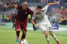 Maicon si prepara per Roma-Inter