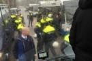 Tifosi giallorossi scesi a Rotterdam, tutti schedati e perquisiti