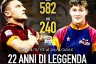 Francesco Totti proprio oggi esordina in Serie A nel 1993
