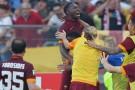 Yanga-Mbiwa nel post partita di Lazio-Roma 1-2