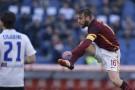 Daniele De Rossi nel post partita di Roma-Atalanta 0-2