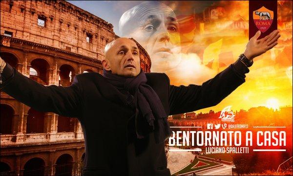 Spalletti torna alla Roma
