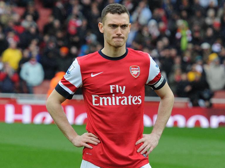 Vermaelen ai tempi dell'Arsenal. Designato da Wenger come capitano della squadra per le sue qualit� di leader difensivo.