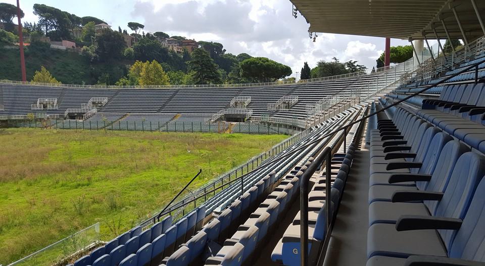 Uno degli ultimi scatti dello Stadio Flaminio totalmente in disuso dopo gli ultimi anni d'abbandono.