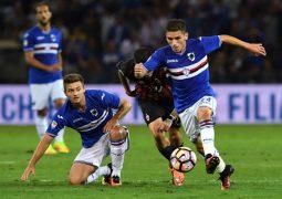 Roma su Torreira della Sampdoria