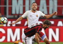 Infortunio di Strootman a Milan-Roma