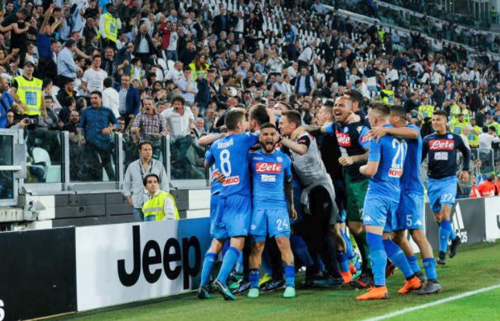 Serie A Juventus-Napoli 0-1