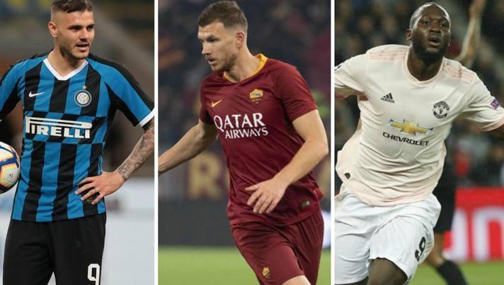 Dzeko all'Inter